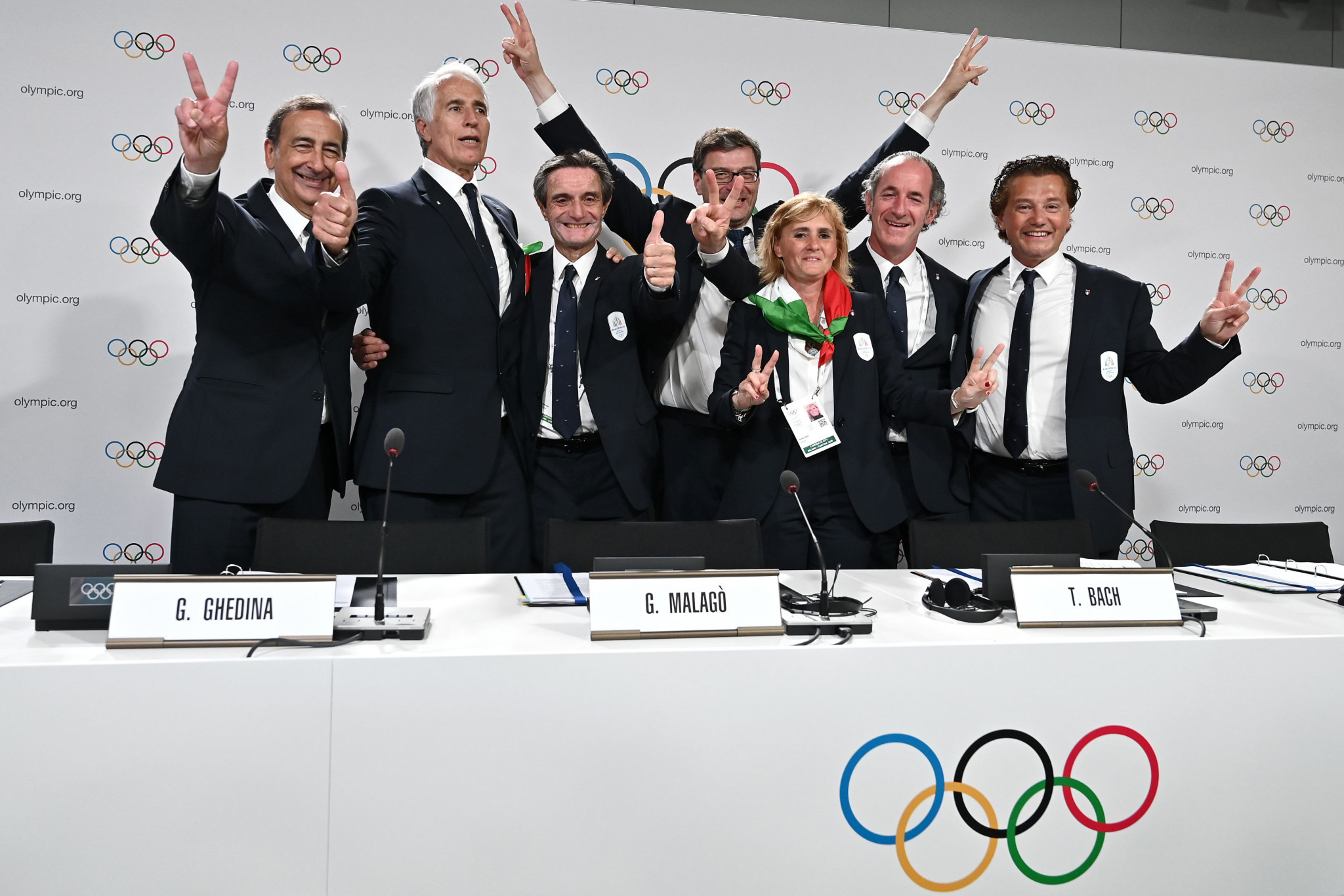 Milan-Cortina 2026 organisers say preparations going well following meetings with IOC and IPC