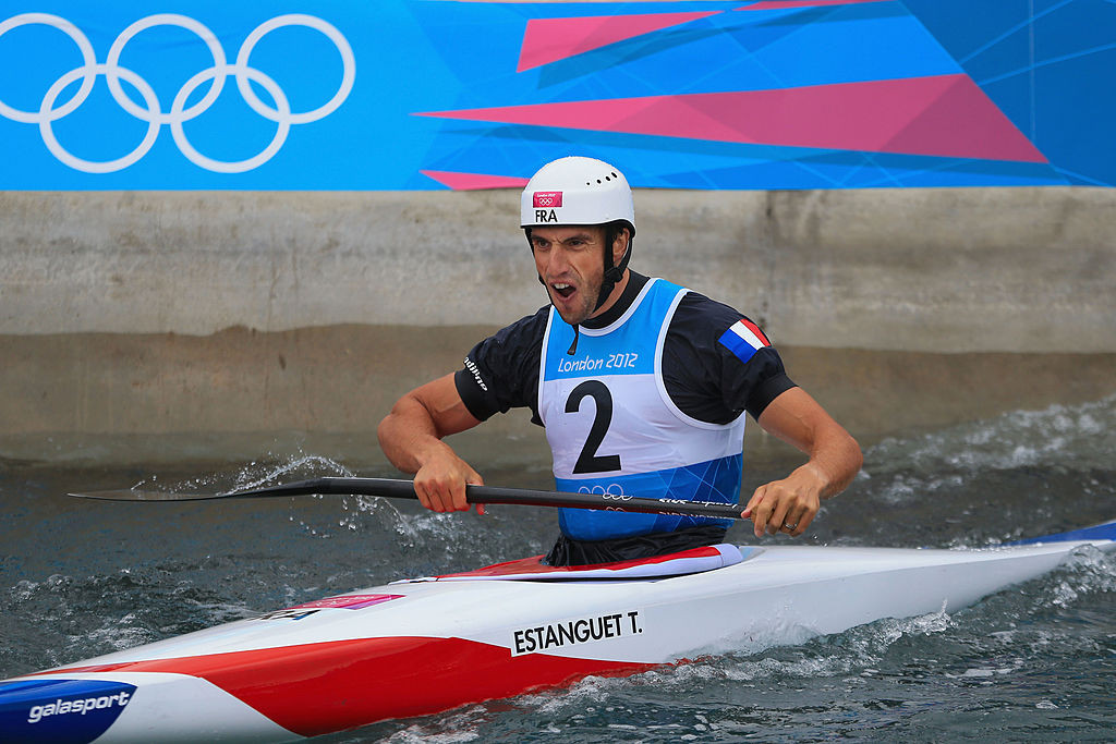 Tony Estanguet won three Olympic gold medals in canoe slalom during his career in the sport ©Getty Images