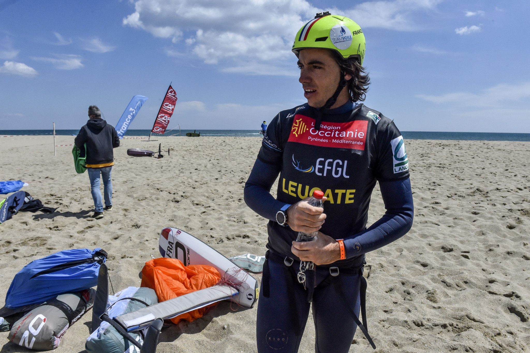 Mazella aims to defend KiteFoil World Series lead at third round in Cagliari
