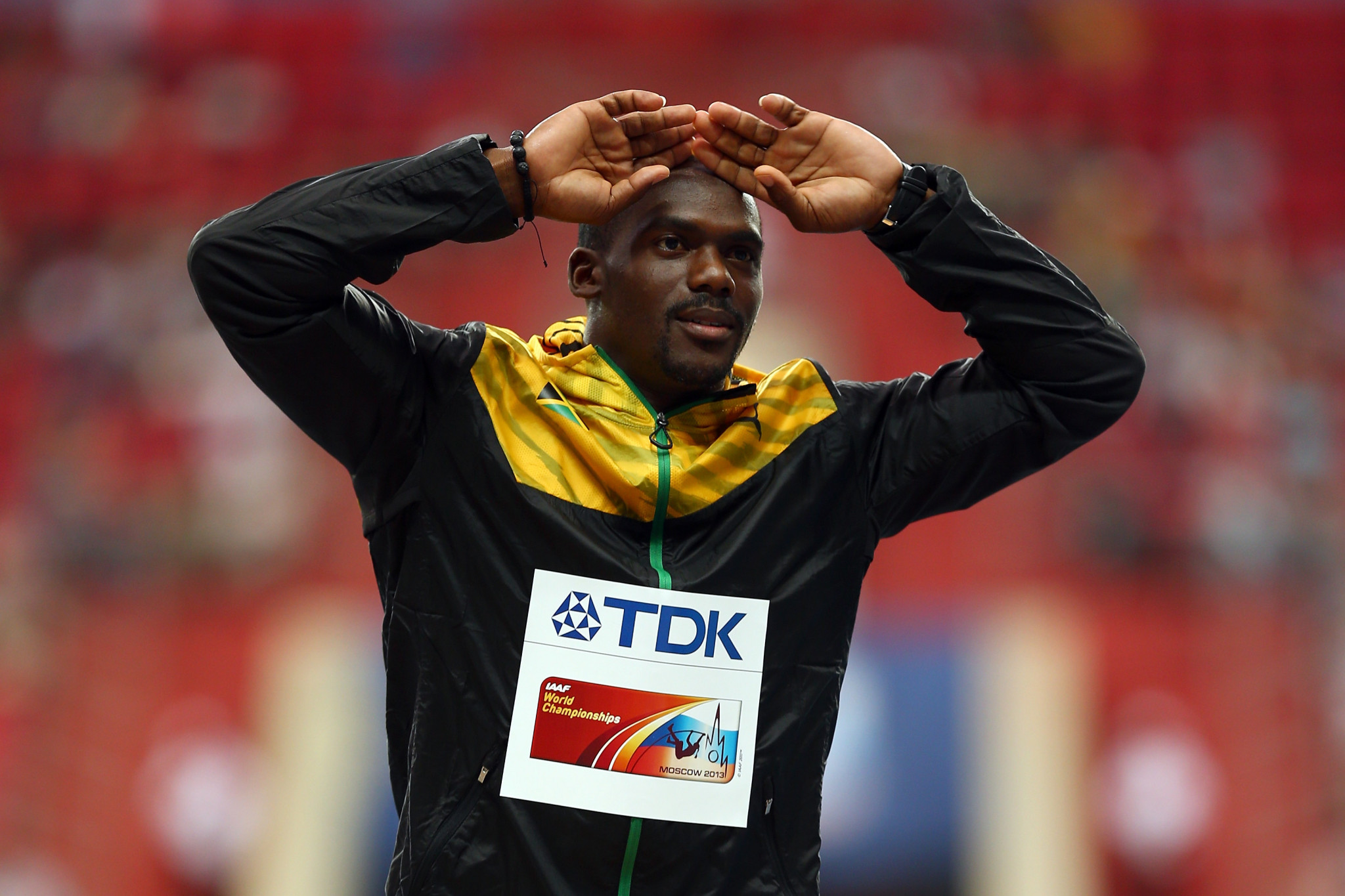 Jamaican sprinter Carter tests positive for banned substance again