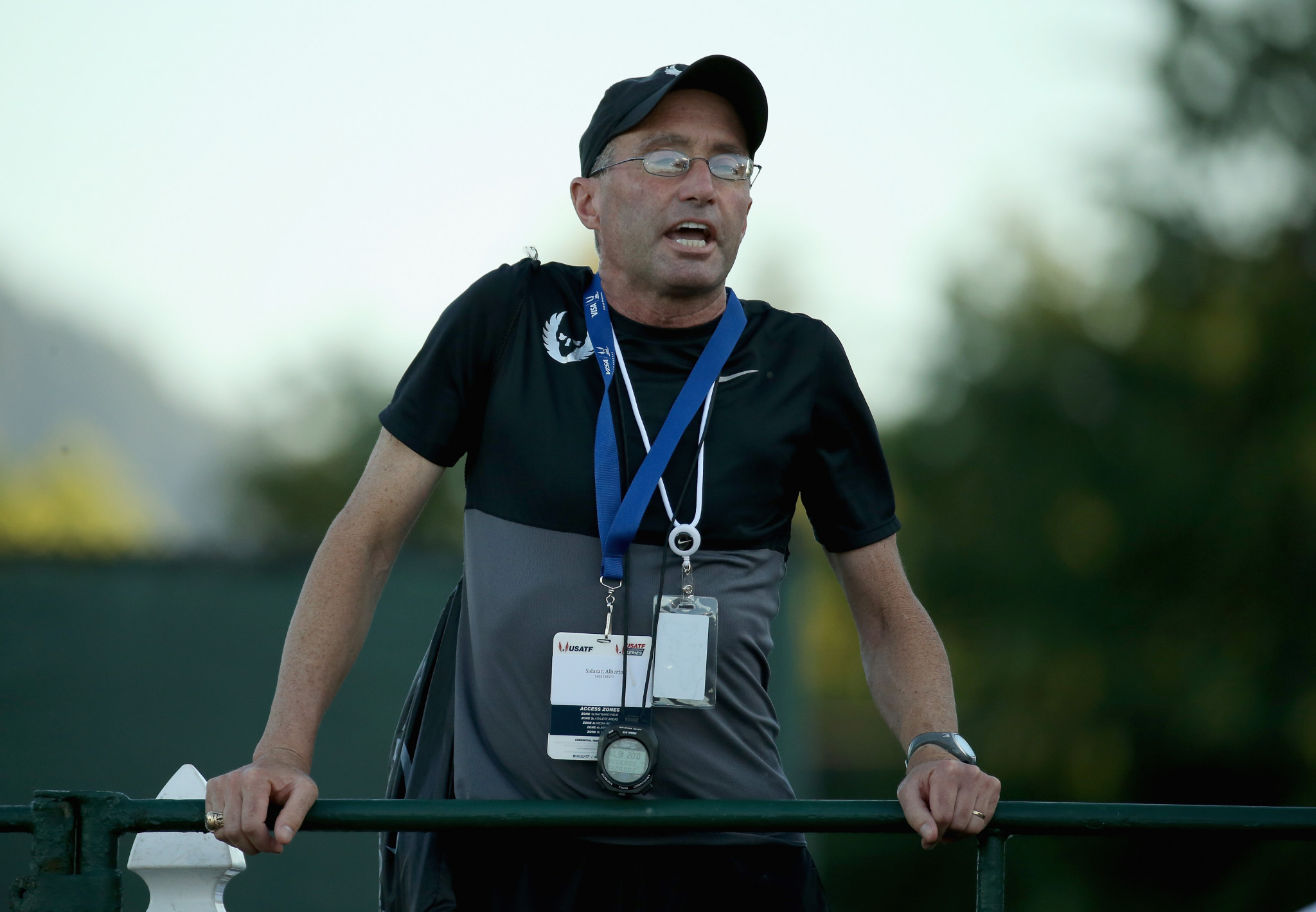 WADA has ruled no further proceedings are necessary against other individuals in the Nike Oregon Project case, which led to coach Alberto Salazar being banned from the sport for four years ©Getty Images