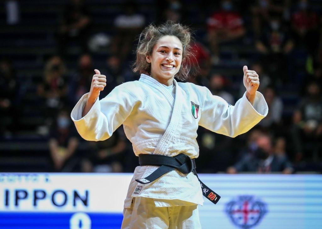 Assunta Scutto earns winning start for hosts Italy at IJF World Junior Judo Championships