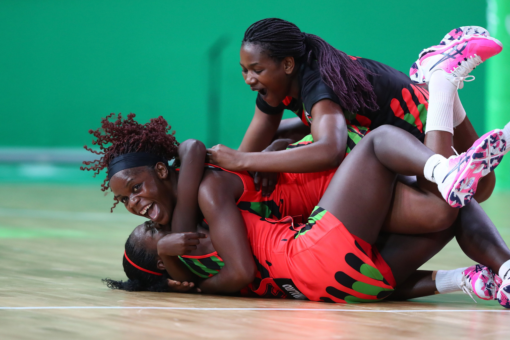 Malawi's netball team shocked New Zealand at Gold Coast 2018 ©Getty Images