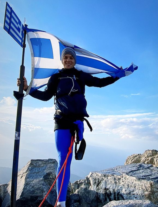 Greek Paralympian becomes first amputee to climb Mount Olympus