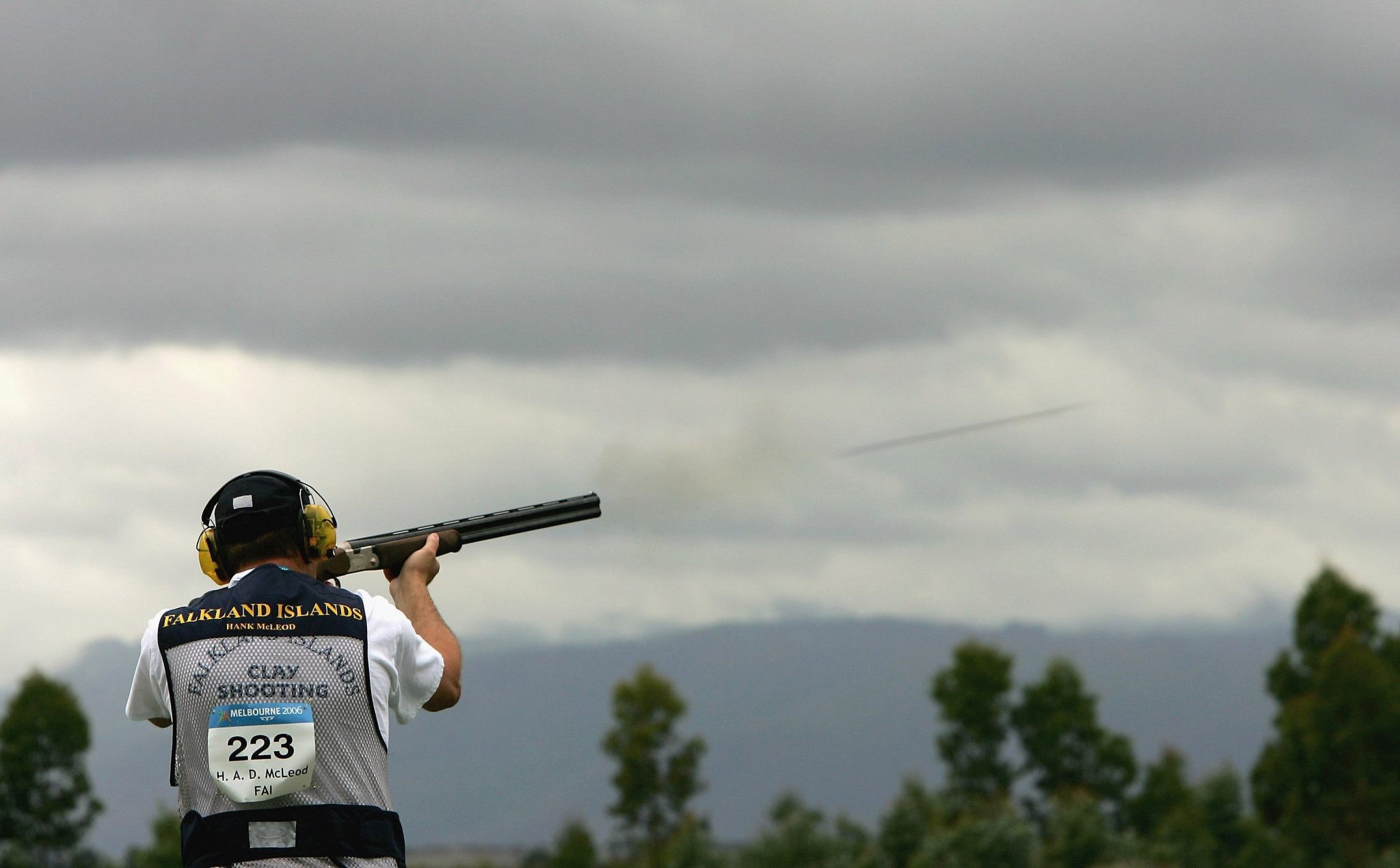 Falkland Islands sent 10 shooters to Gold Coast 2018, but the sport has been removed from the Commonwealth Games programme ©Getty Images