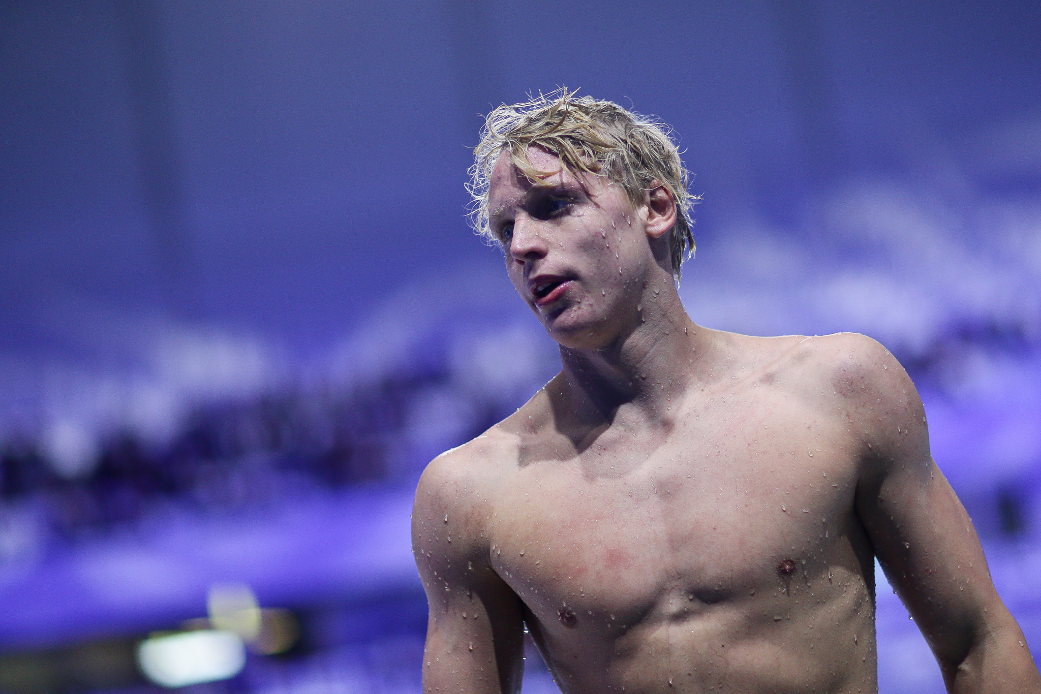 Teenagers fly at Budapest International Swimming Federation World Cup