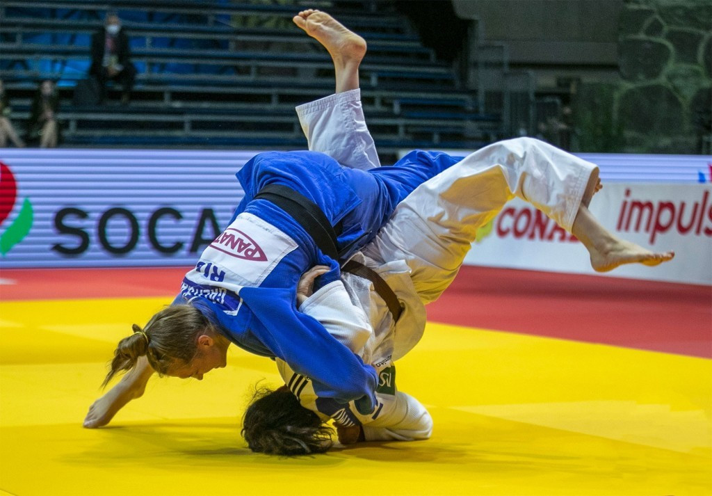 Russia moves to top of medal table at IJF World Junior Judo Championships with Galitskaia victory