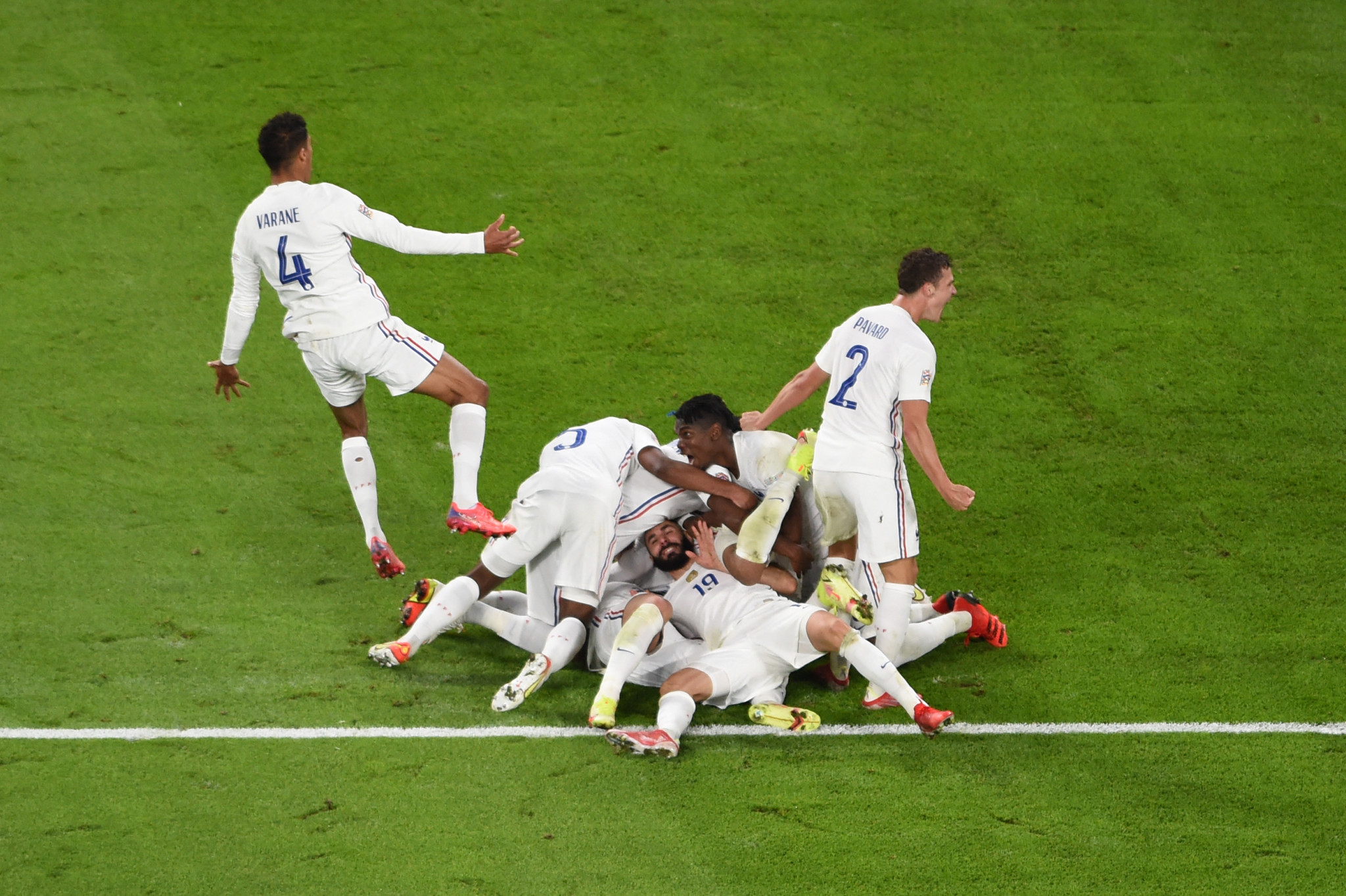 France produce dramatic comeback to set up UEFA Nations League final with Spain