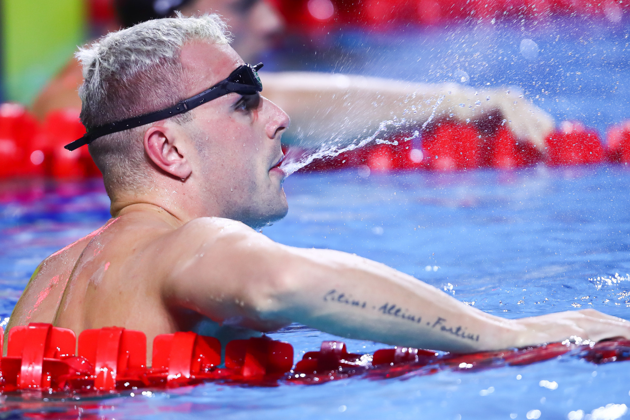 Chalmers beats Morozov again at Budapest International Swimming Federation World Cup