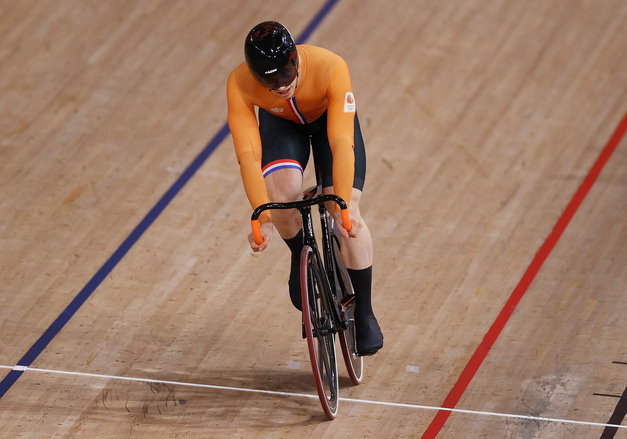 Harrie Lavreysen earns fifth Dutch gold at UEC Elite Track European Championships