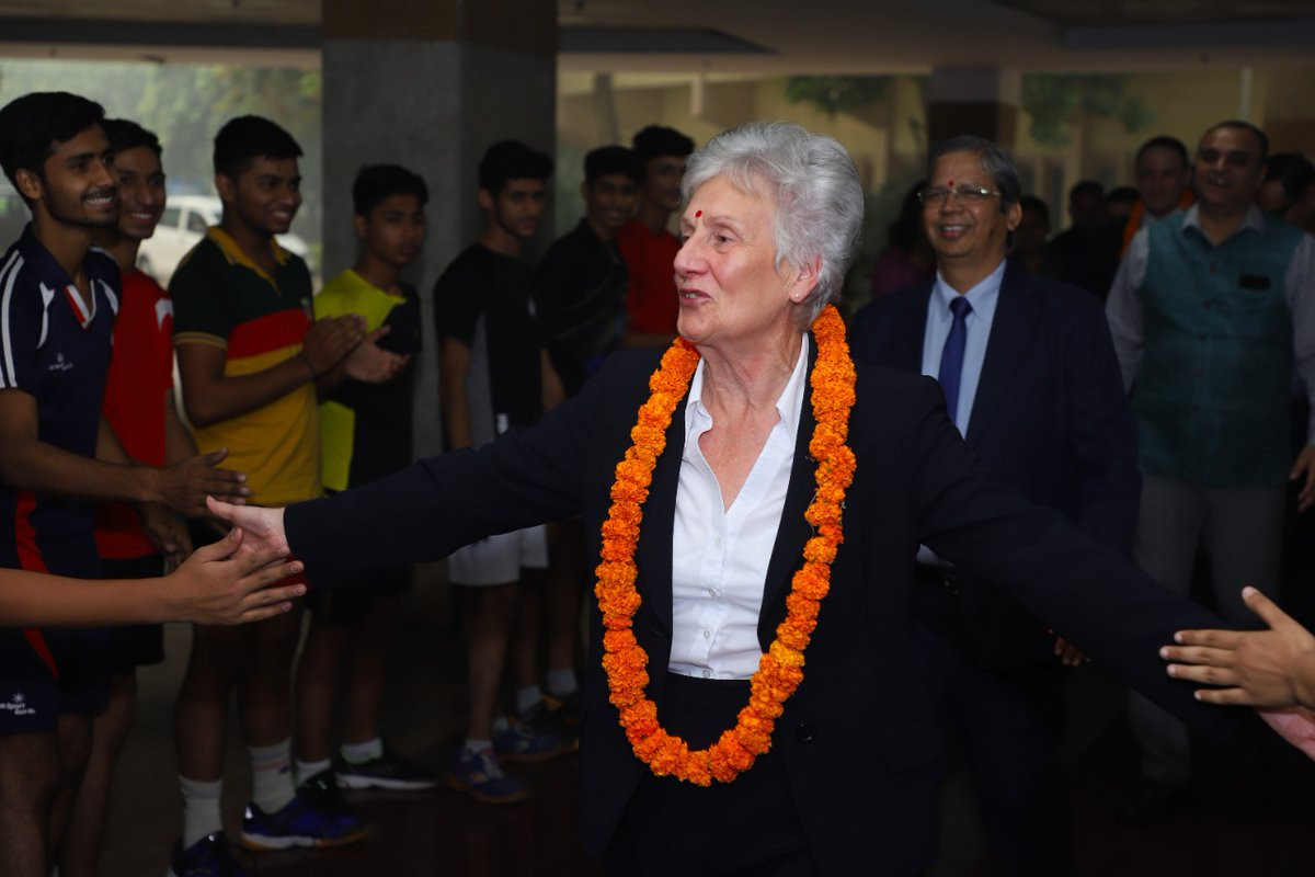 CGF President Dame Louise Martin has opened talks with the IOA and Indian Government to try to ensure the country's hockey teams compete at Birmingham 2022 ©IOA
