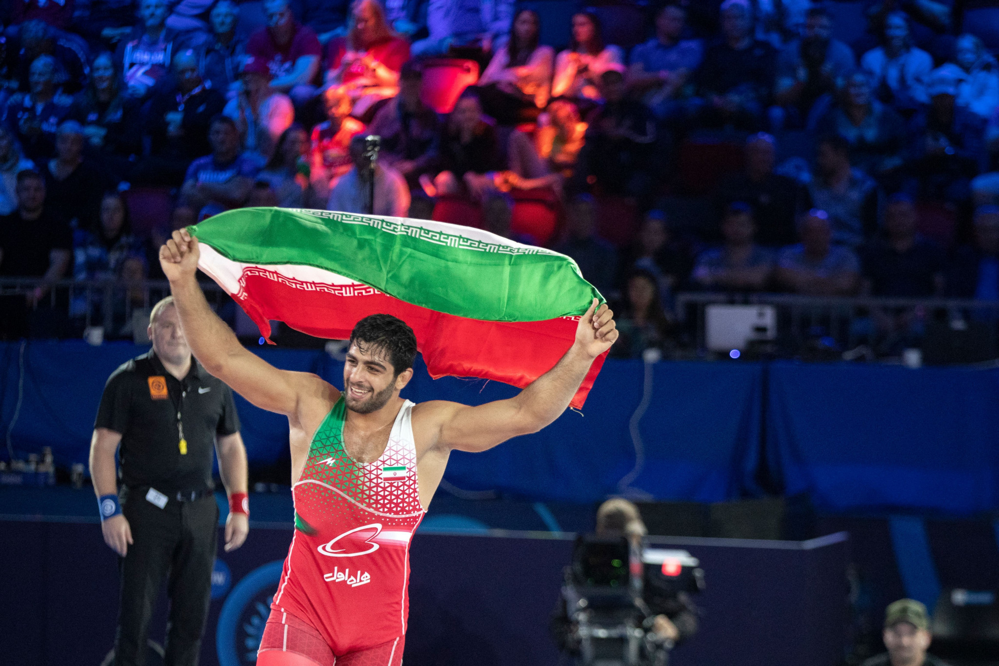 Olympic medallist Saravi one of two Iranian winners on penultimate day at UWW World Championships in Oslo