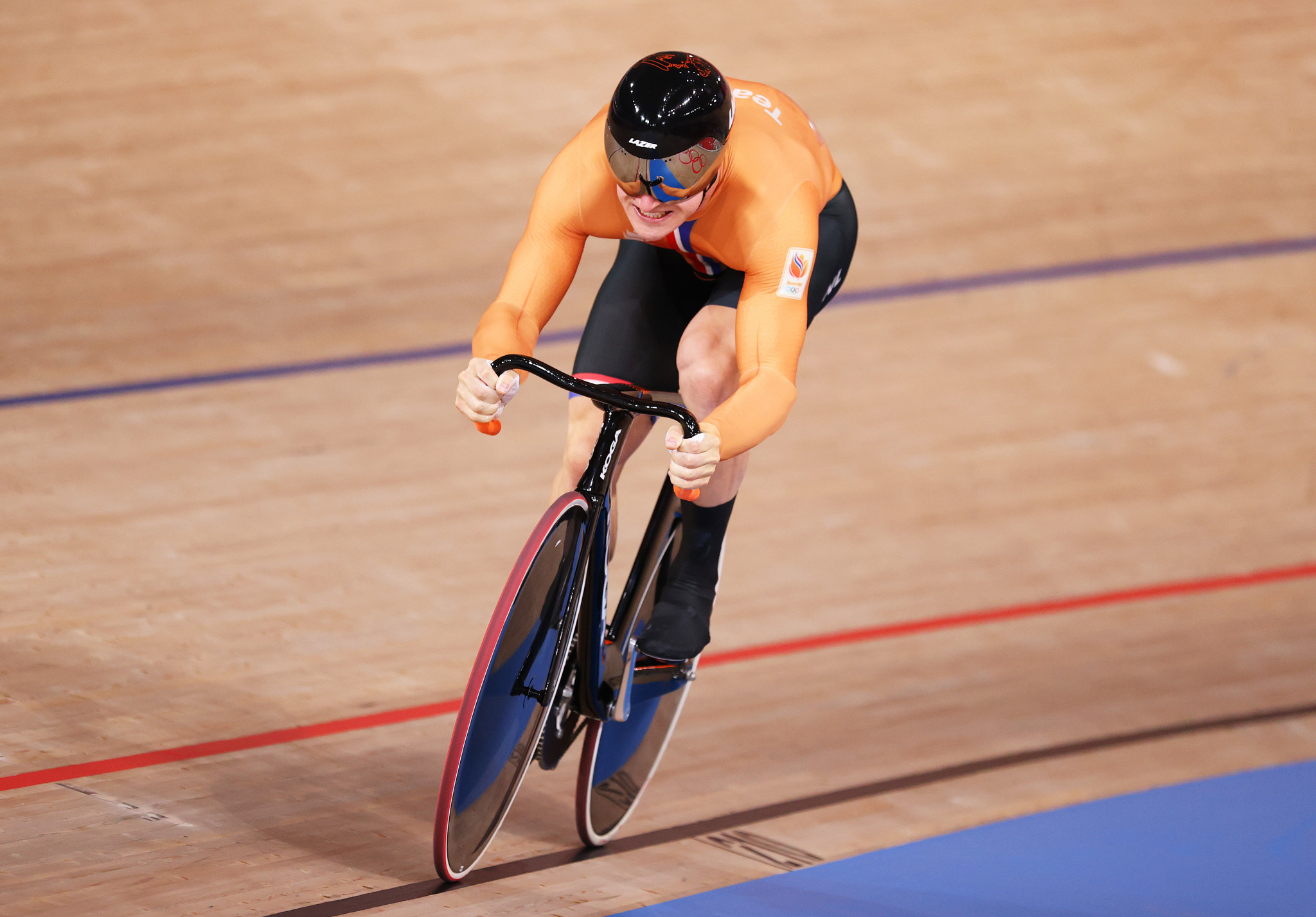 Hoogland claims third gold as Dutch top medal table at UEC Elite Track European Championships