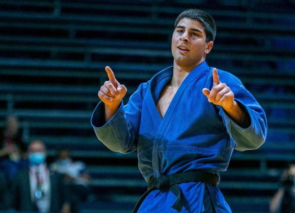 Sulamanidze and Inaneishvili earn golds for Georgia at IJF World Junior Judo Championships