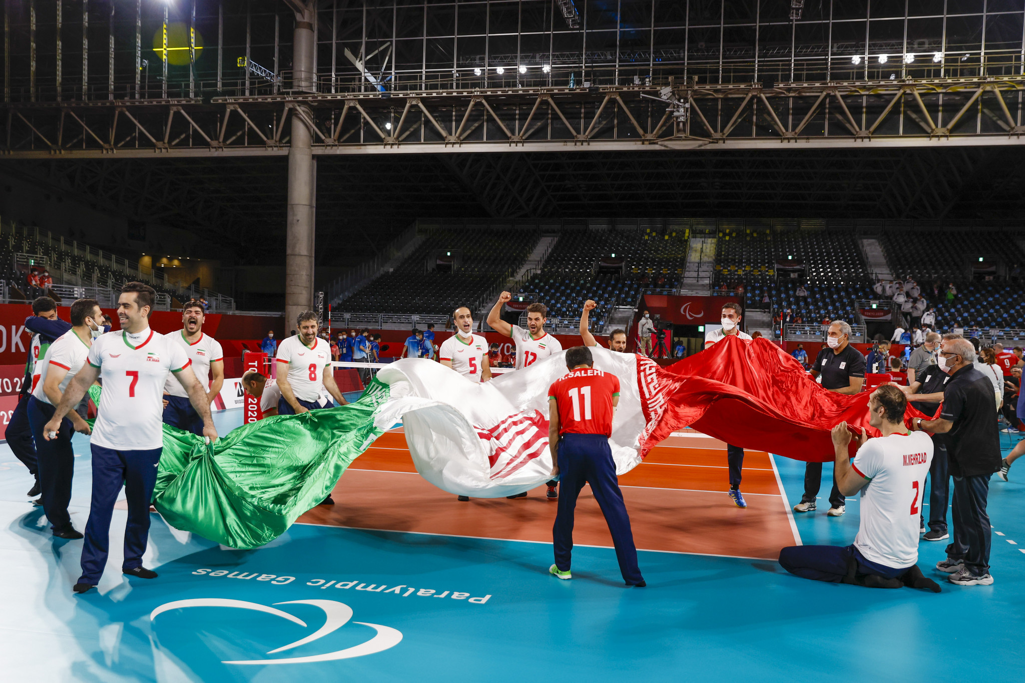 Iran won medals at six successive Paralympics under the guidance of Hadi Rezaei ©Getty Images