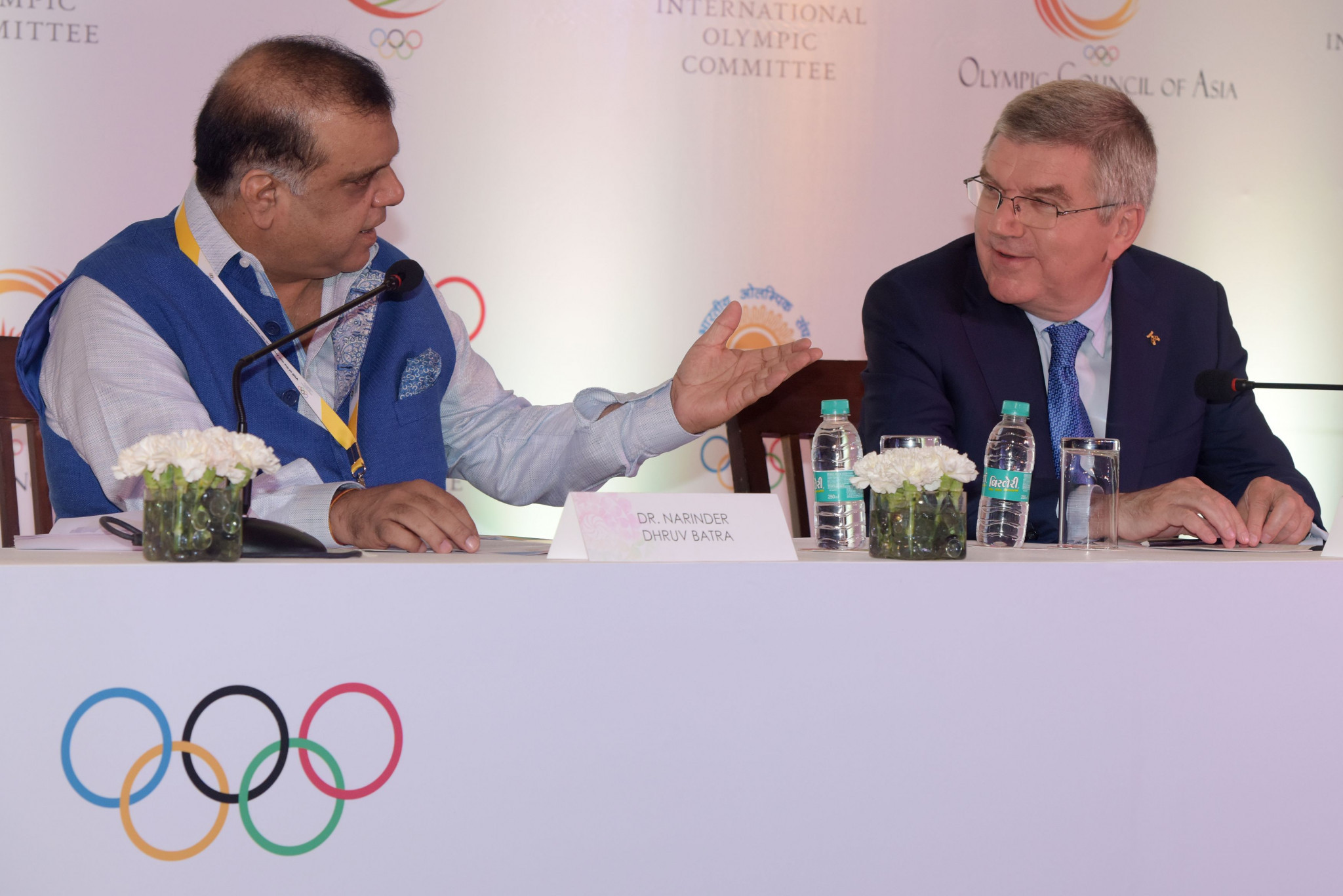 IOA President Narinder Batra has claimed that India has already opened discussions with the IOC about hosting the 2036 Olympic and Paralympic Games ©Getty Images