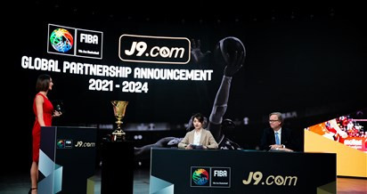 FIBA enters betting partnership with J9 including commercial rights for Basketball World Cups