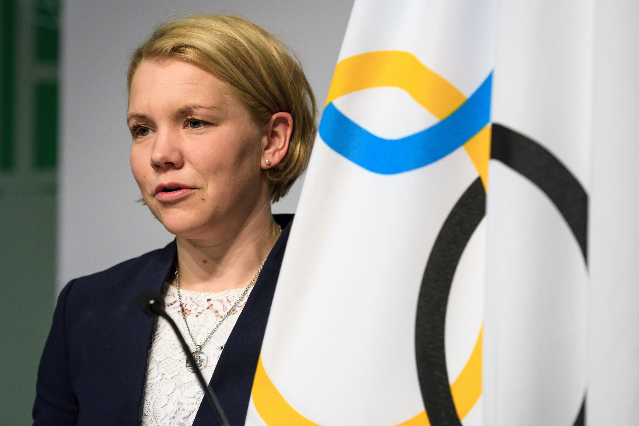 Emma Terho, as head of the IOC Athletes' Commission, sits on the Executive Board ©Getty Images