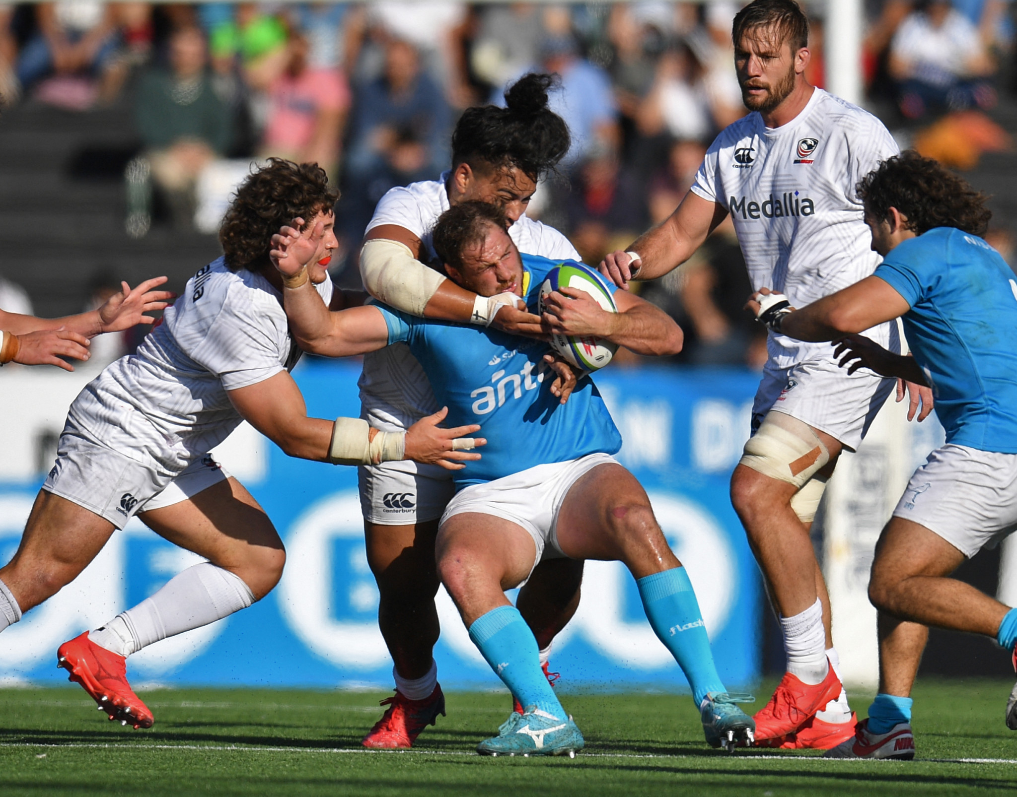 Uruguay qualify for third successive Rugby World Cup by beating US, while Canada miss out for first time