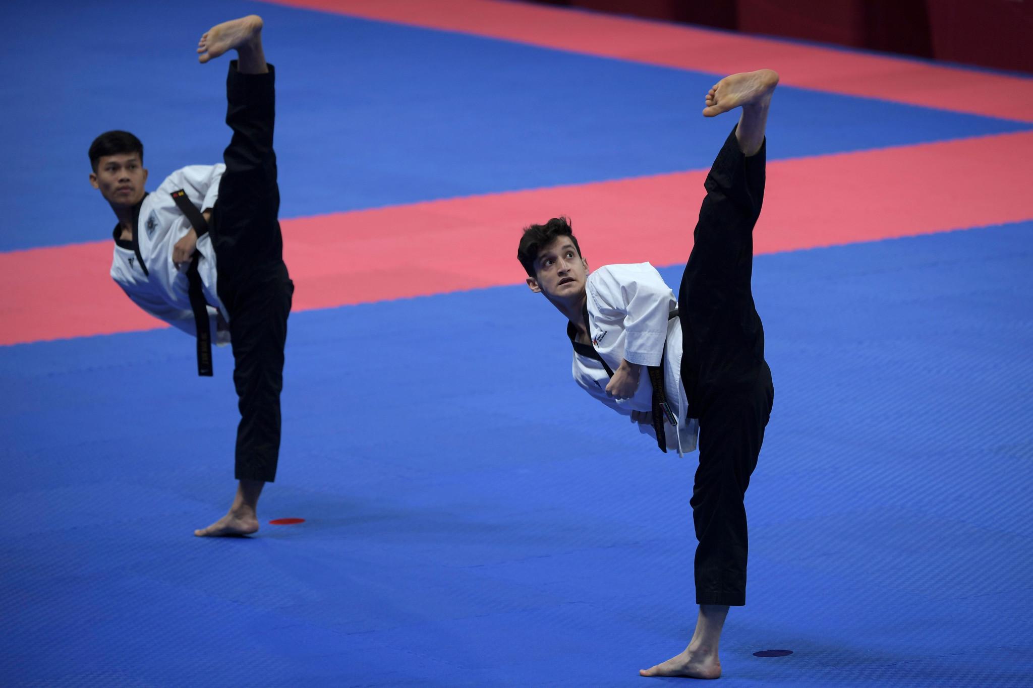 Lee Kyu-seok hopes to maintain poomsae taekwondo's presence at the Asian Games ©WT Asia