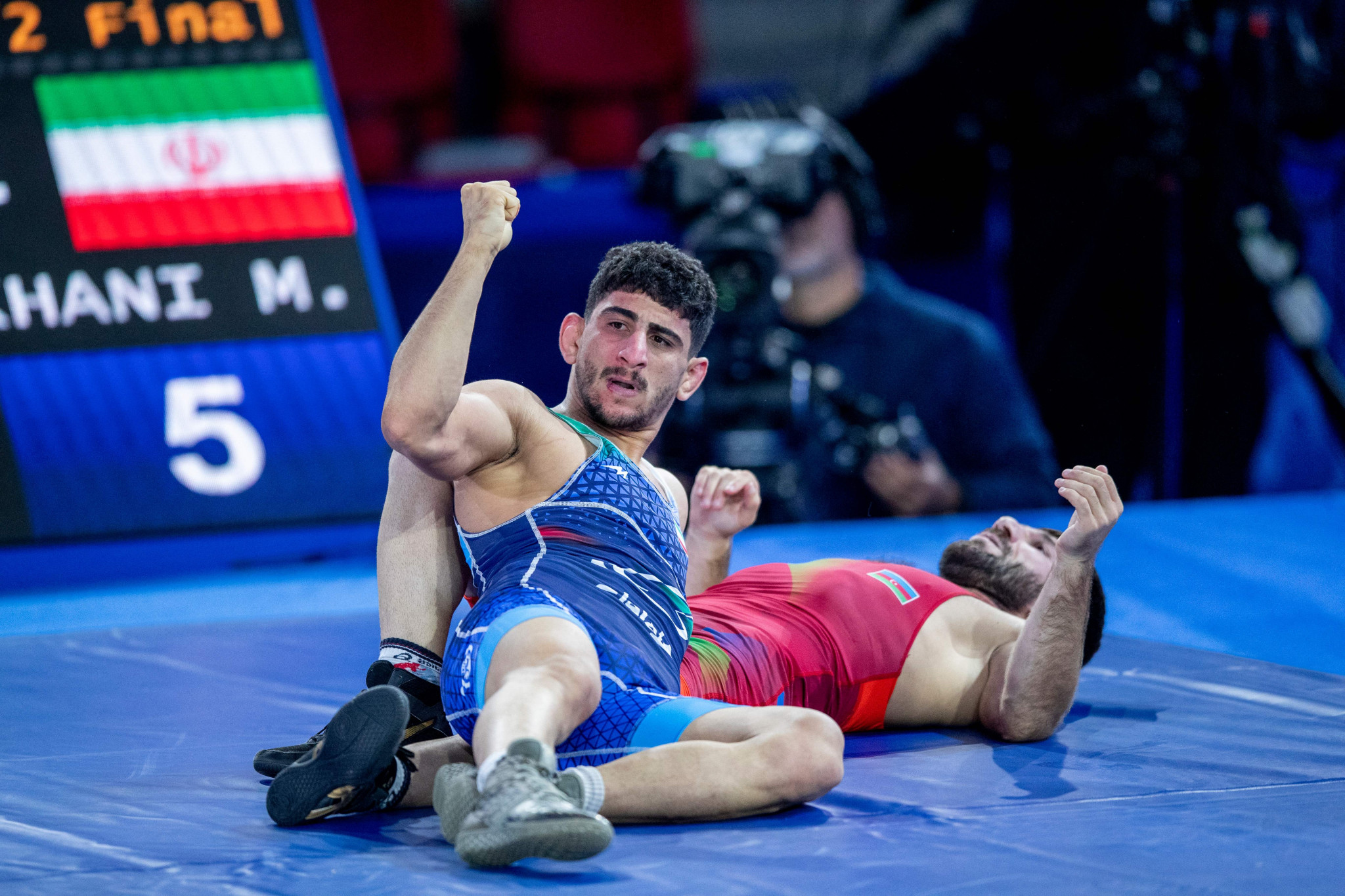 Iran tops medal table on final day of Wrestling World Championships