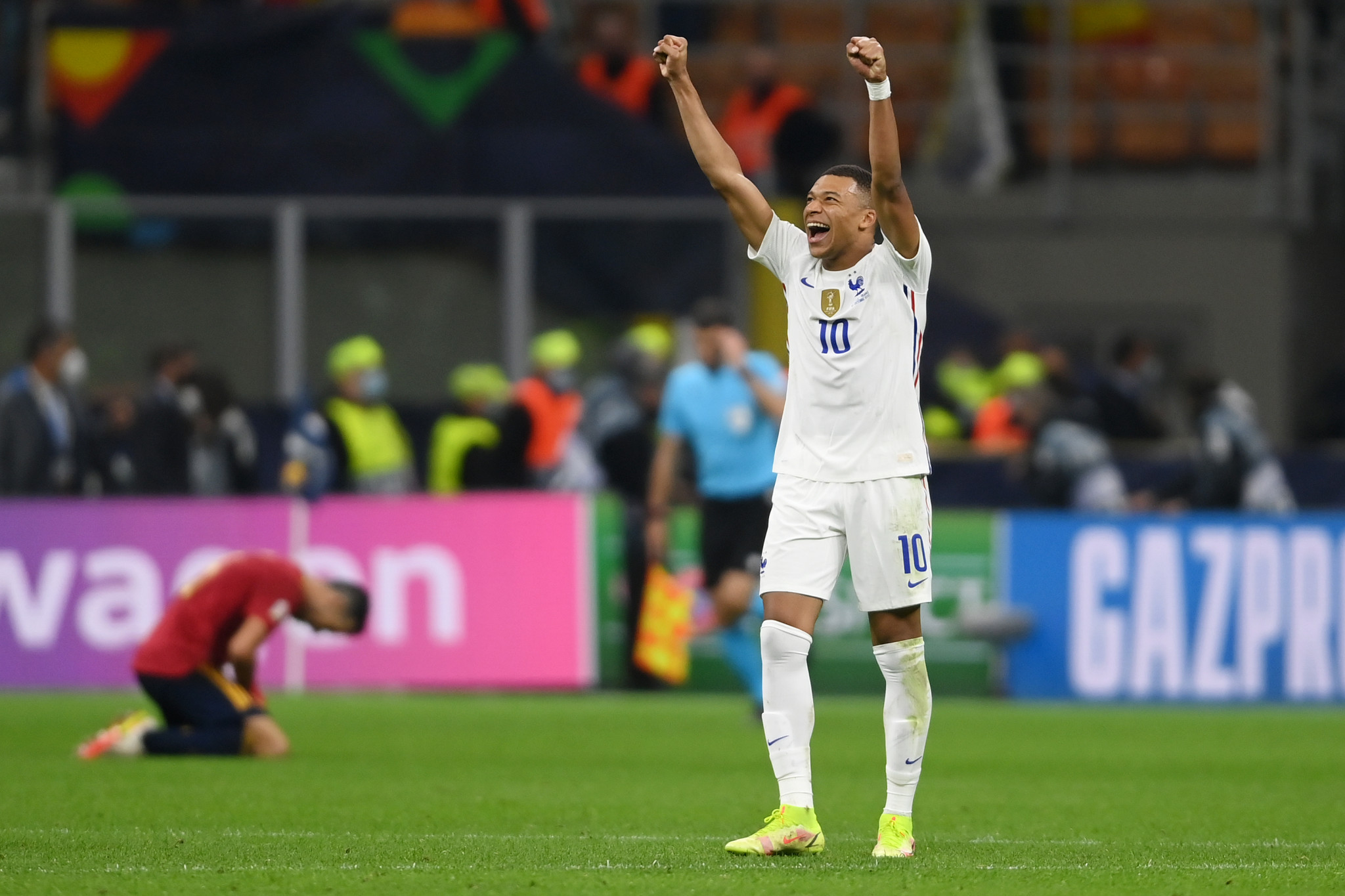 France come from behind again to claim UEFA Nations League title