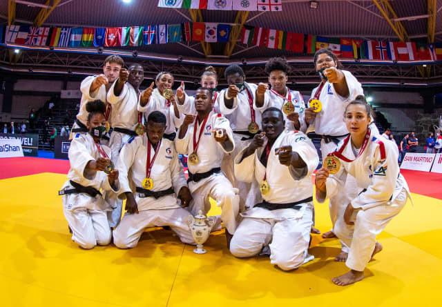 France win mixed team gold at World Junior Judo Championships