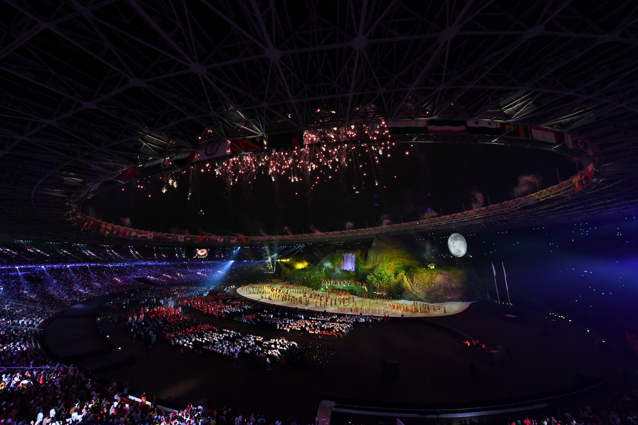 Indonesia staged the Asian Games in 2018 and hopes to host the 2036 Olympics and Paralympics, but the WADA sanctions prevent it from being awarded major events for a minimum of a year and not until the non-compliance declaration is lifted ©Getty Images