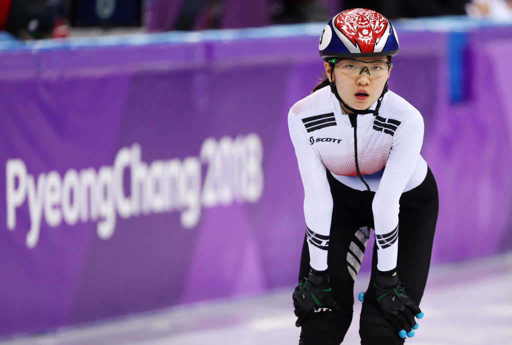 Shim axed from South Korean short track team in row over messages sent during Pyeongchang 2018