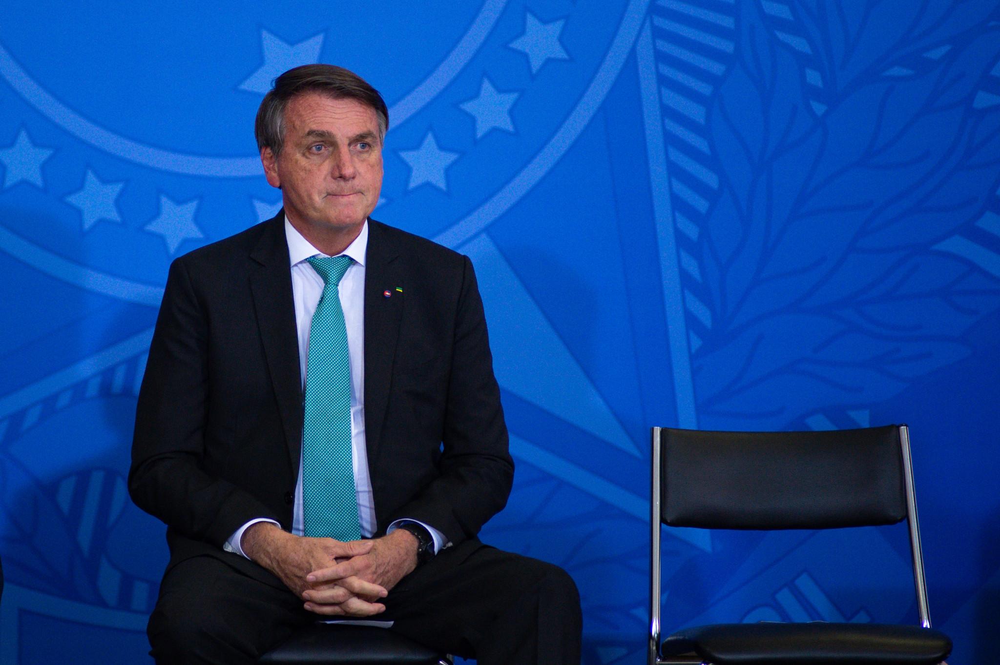 Unvaccinated Brazilian President Bolsonaro refused entry to Santos football match