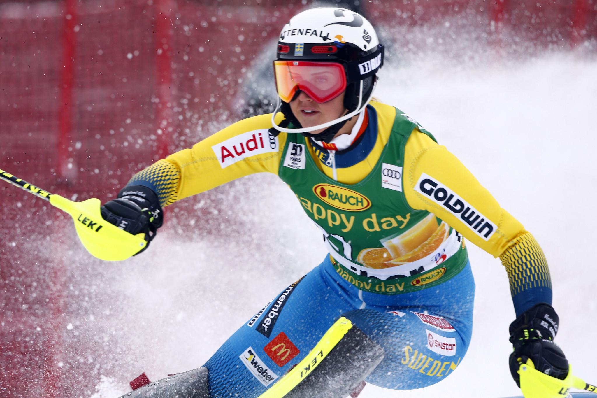 Swedish Alpine skier Wikström retires at 29