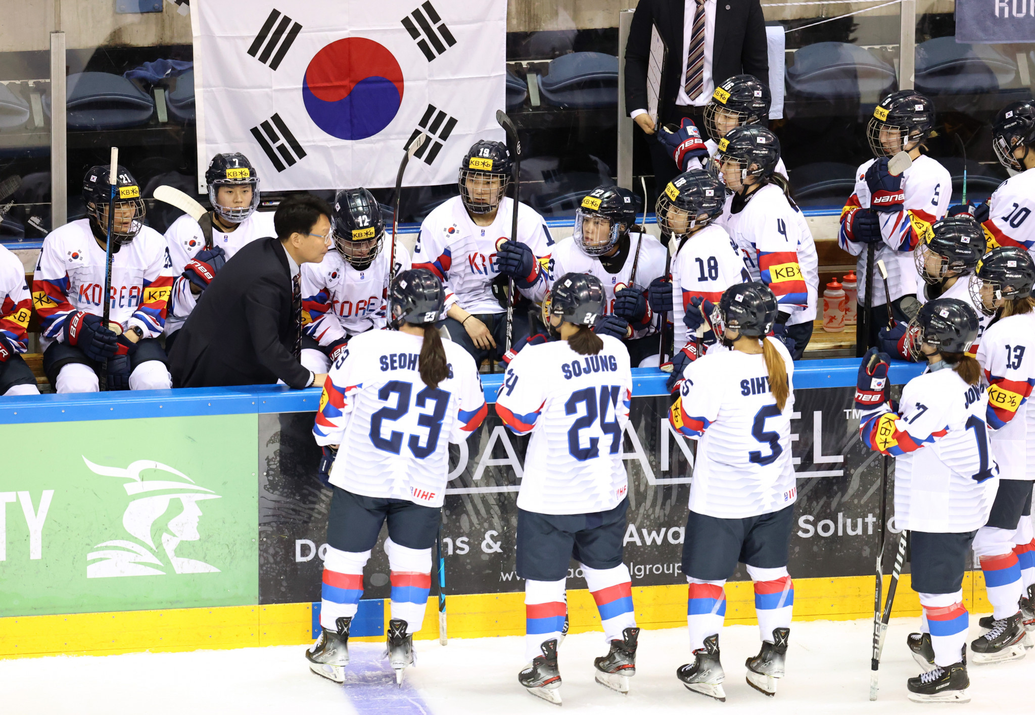 South Korea, Italy and Poland ice hockey teams reach final qualifying round for Beijing 2022