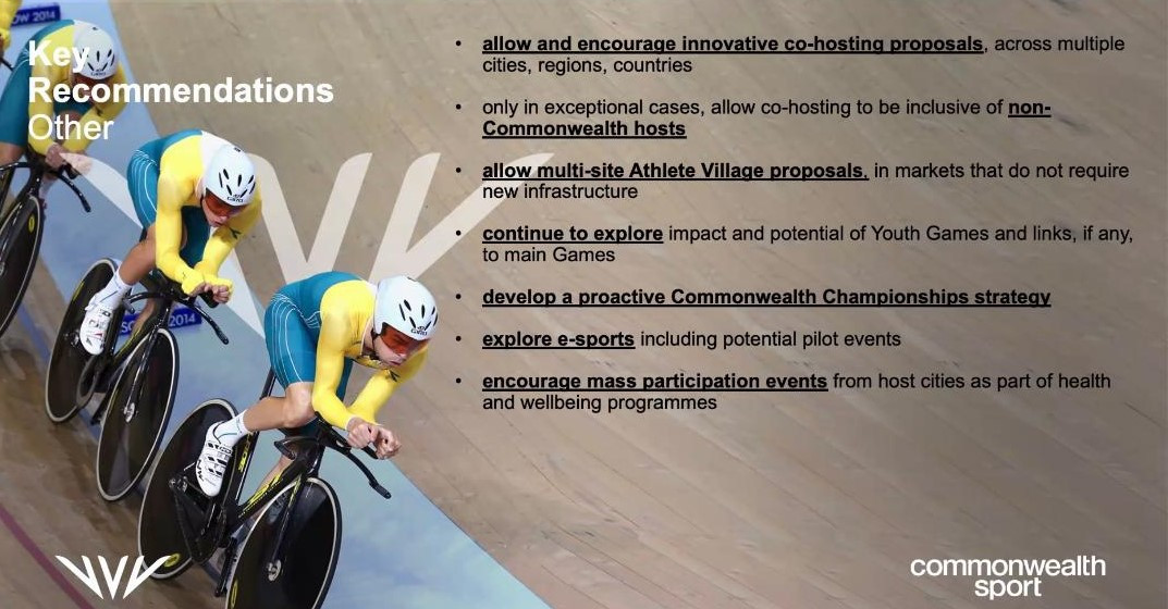 The Commonwealth Games is set to adopt a more flexible programme in the future ©ITG