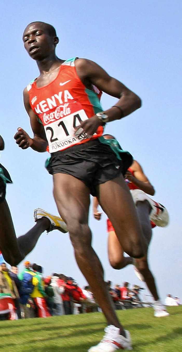 Hosea Mwok Macharinyang was a member of the Kenyan team that won gold medals at the World Cross Country Championships in 2006, 2007 and 2008 ©Getty Images