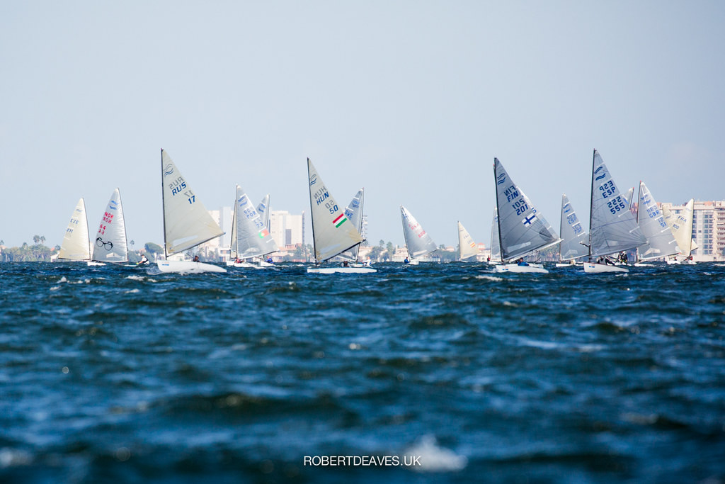 Lebrun takes early lead after opening day of Finn World Masters
