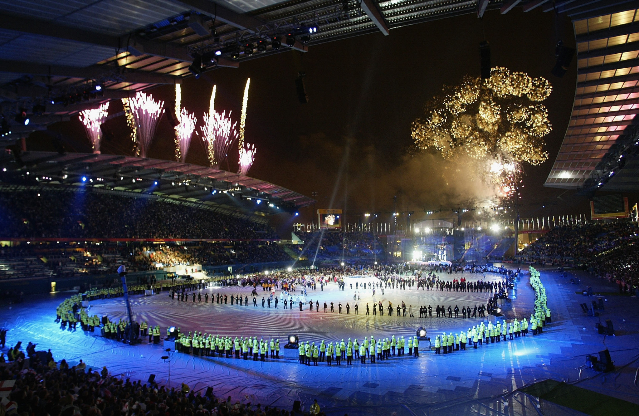 Seven Network was the Australian broadcaster for the Manchester 2002 Commonwealth Games ©Getty Images