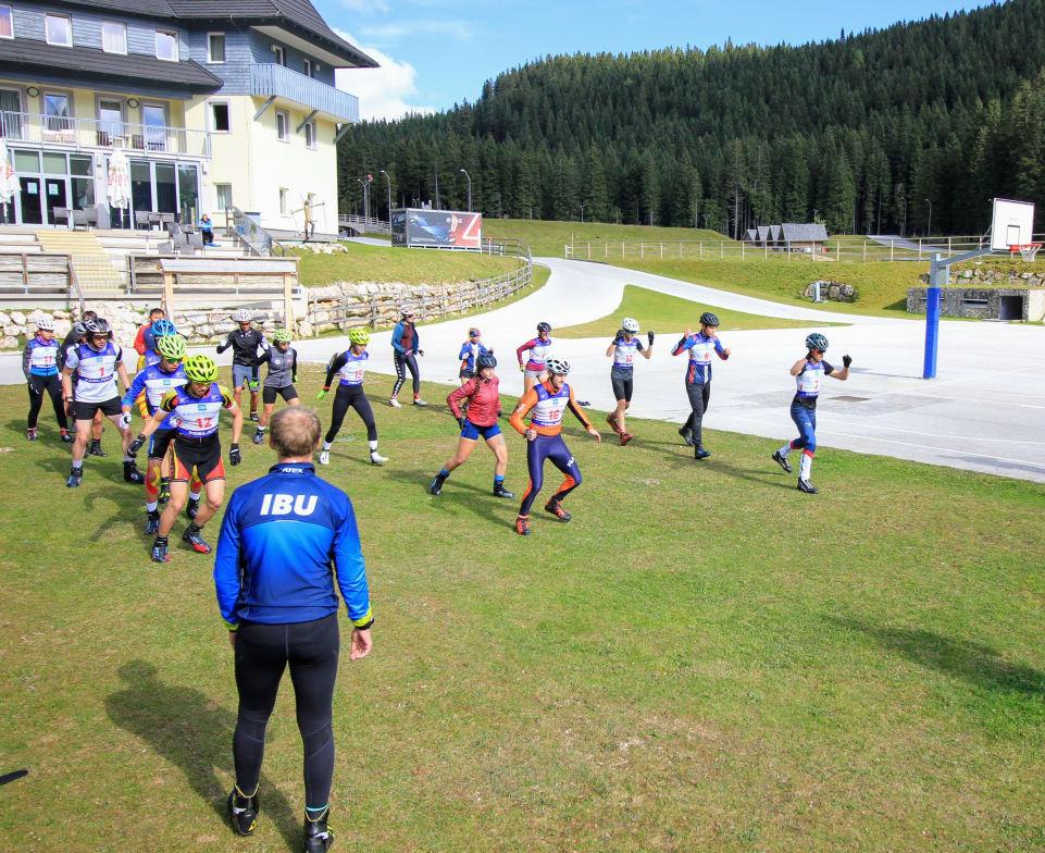 IBU hosts summer training camp for developing nations in Pokljuka