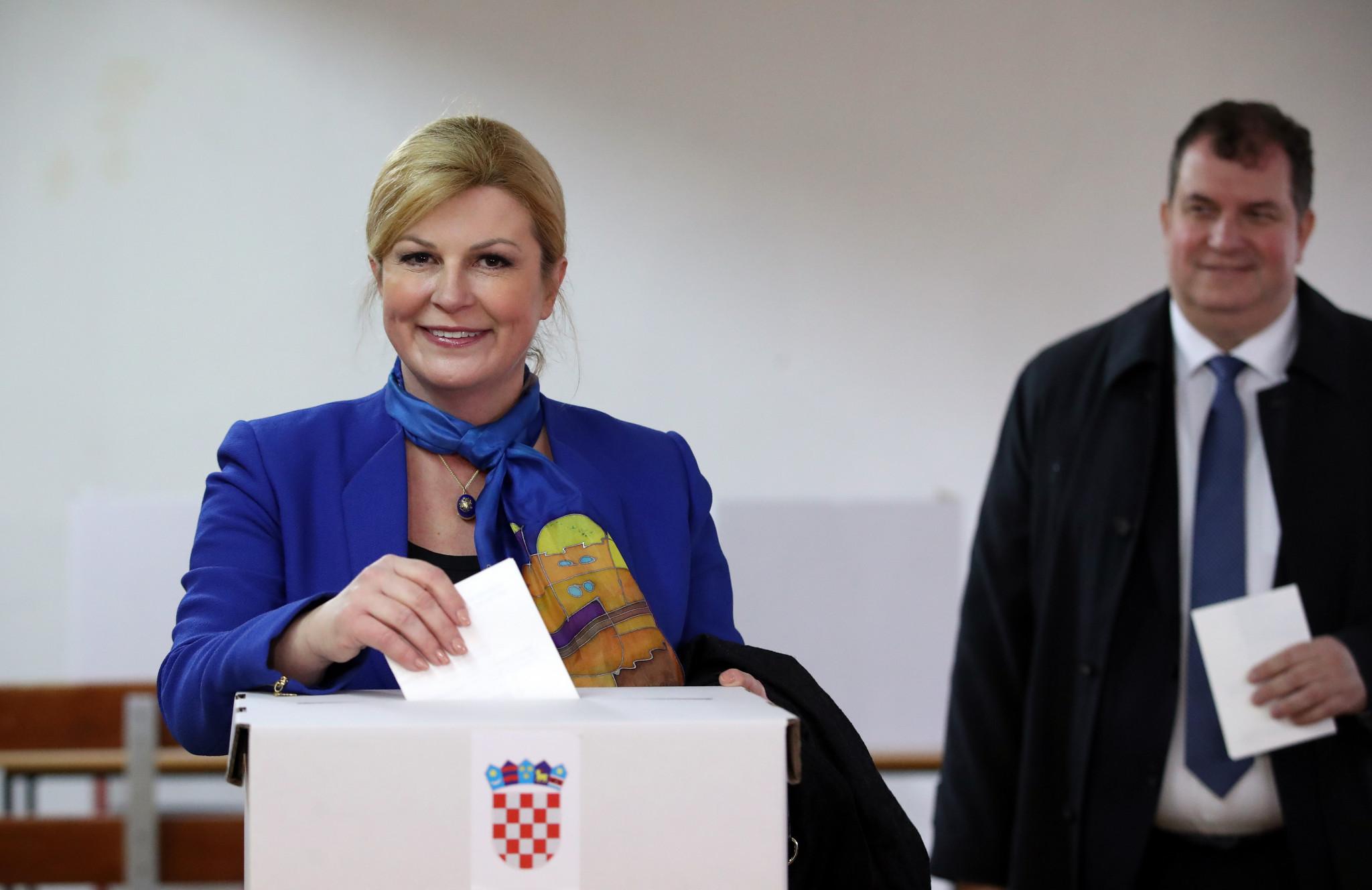 Former Croatian President Kolinda Grabar-Kitarović is the new President of the IOC Future Host Commission ©Getty Images