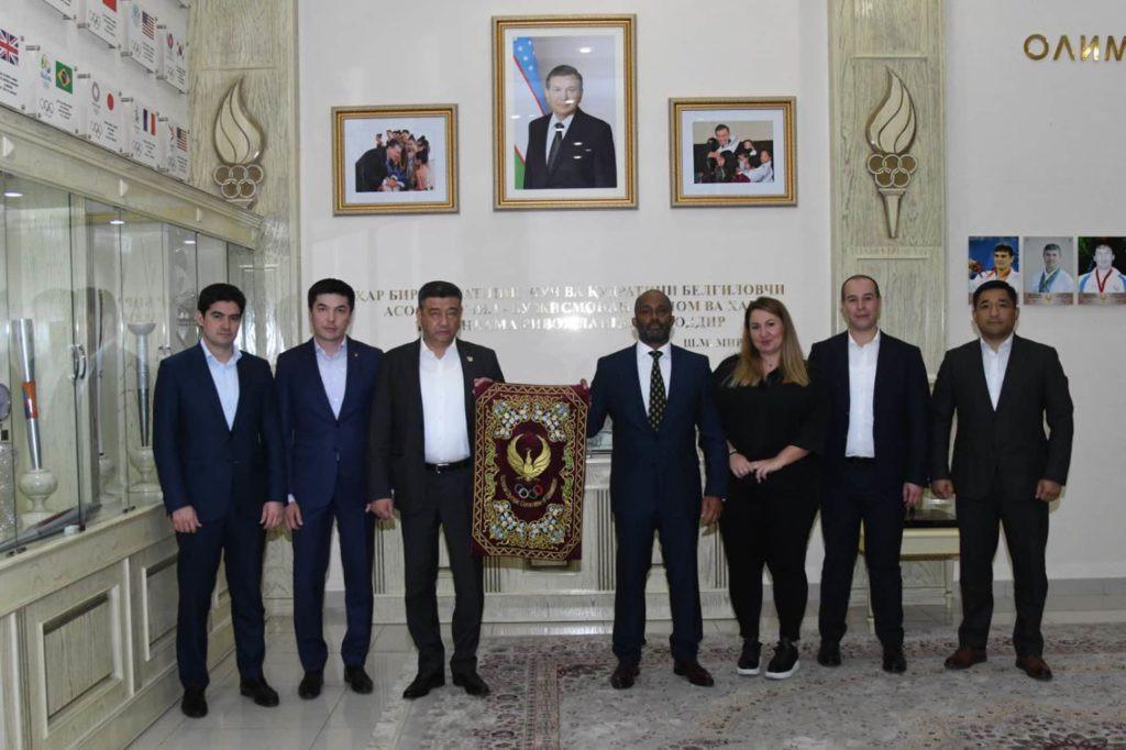 IMMAF President visits Uzbekistan for inaugural Central Asian MMA Championships