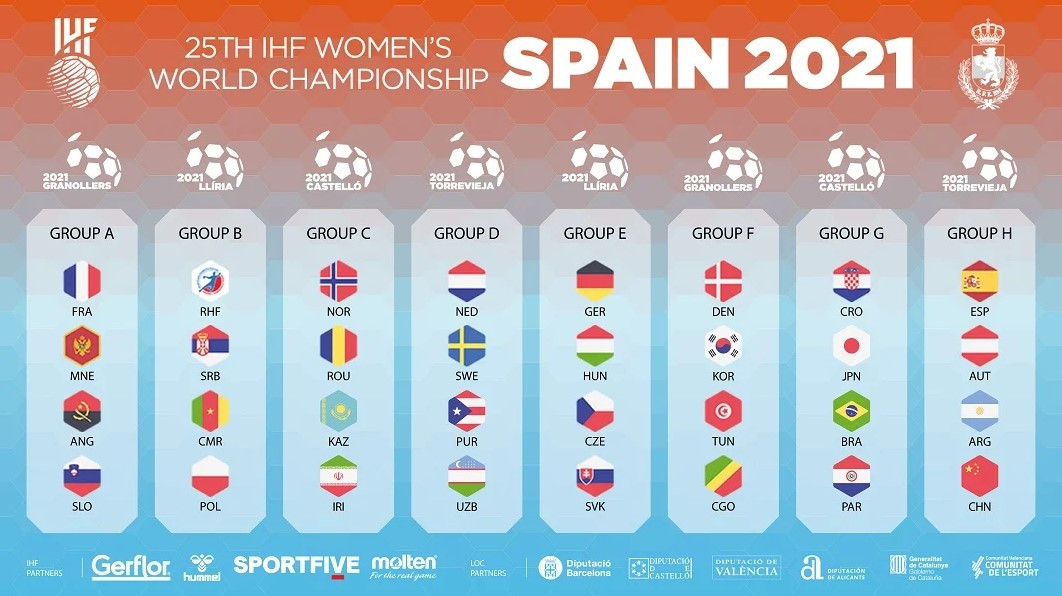The 2021 IHF Women's World Championship will be the 25th edition of the event ©IHF