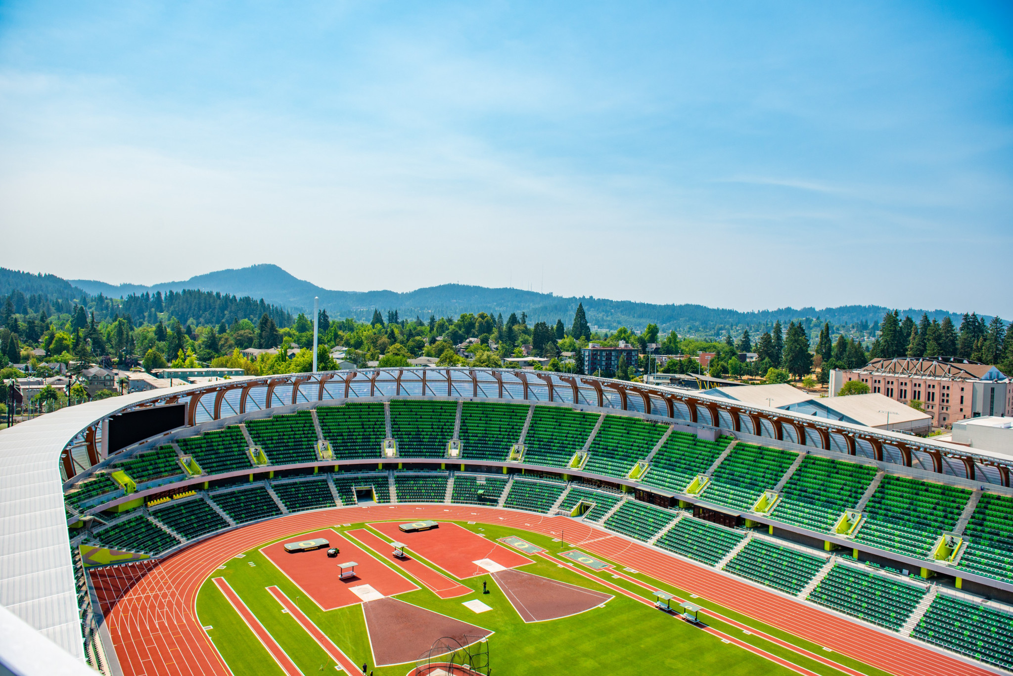 Preparations for 2022 World Athletics Championships inspected for first time in nearly two years