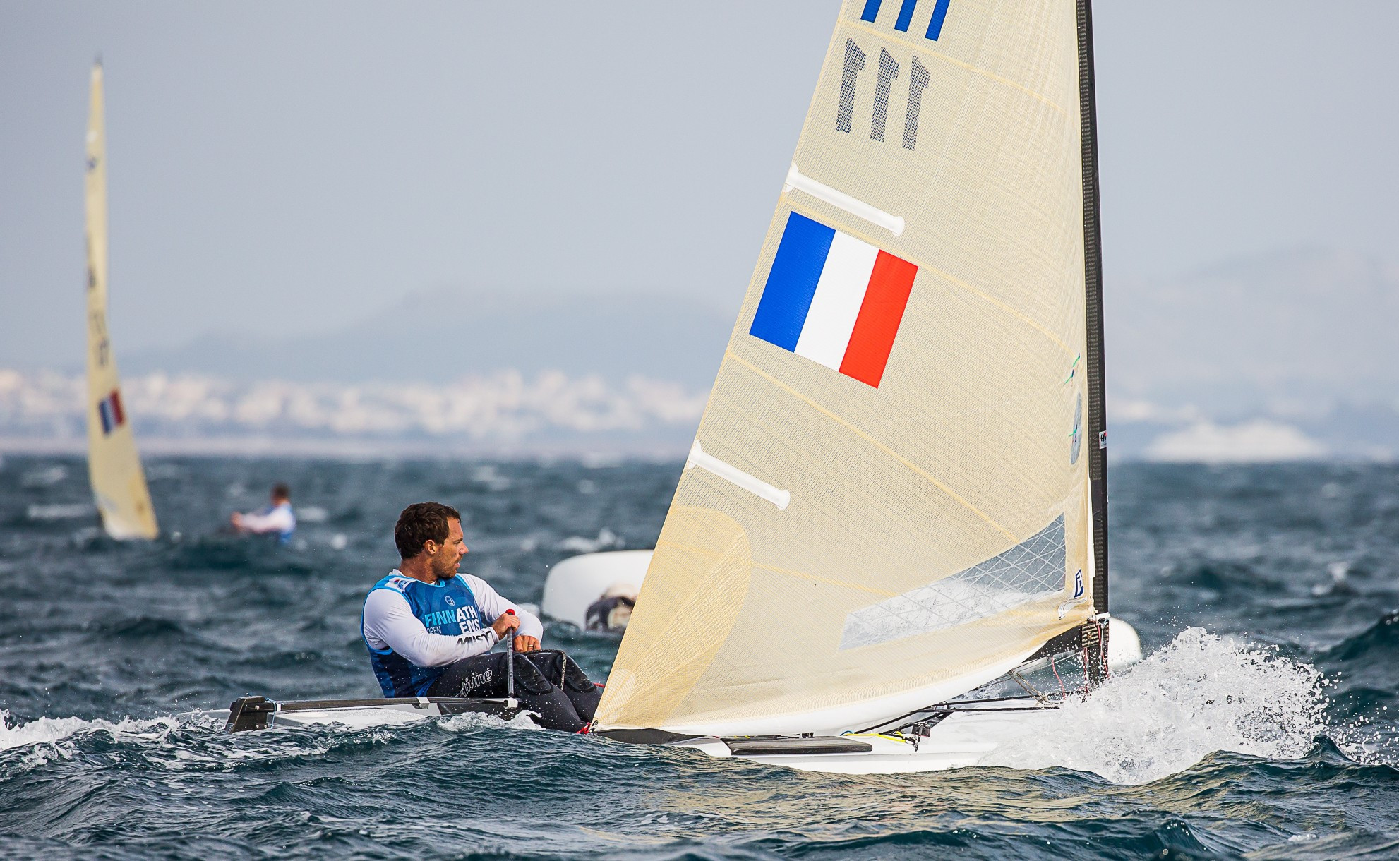 Lebrun extends lead at Finn World Masters