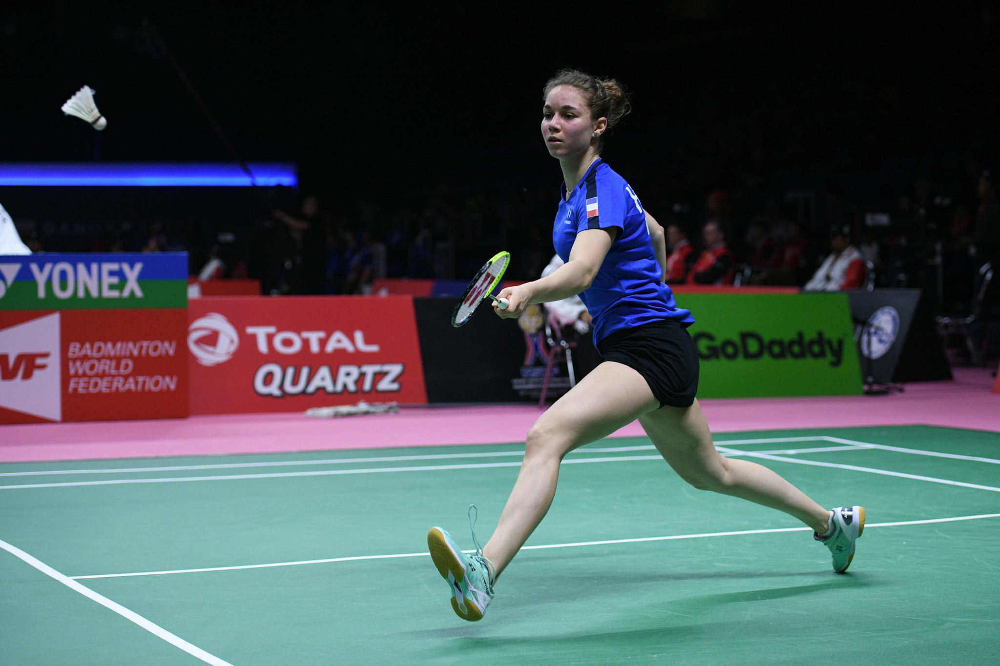 France edge out Germany as group stage matches continue at BWF Thomas and Uber Cup