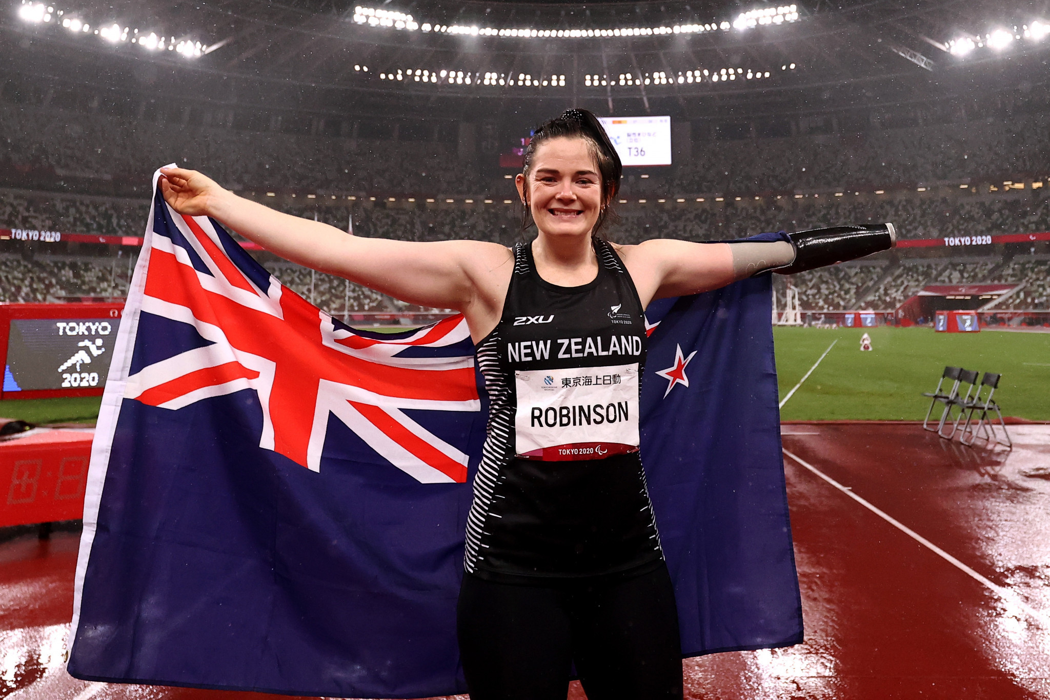 Paralympic champion Holly Robinson has decided to donate her prize money to Ronald McDonald House ©Getty Images
