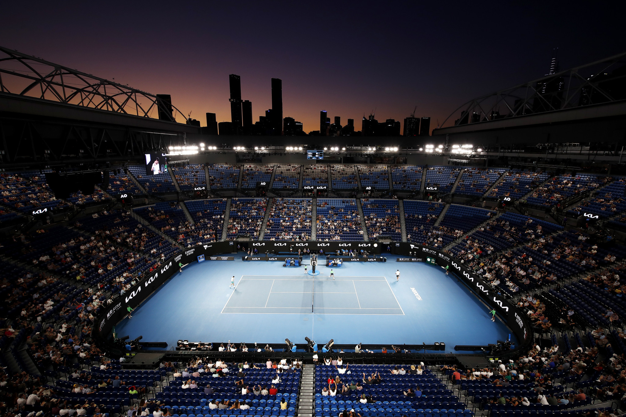 Tennis Australia has yet to reveal whether unvaccinated players will face tougher restrictions at the Australian Open ©Getty Images