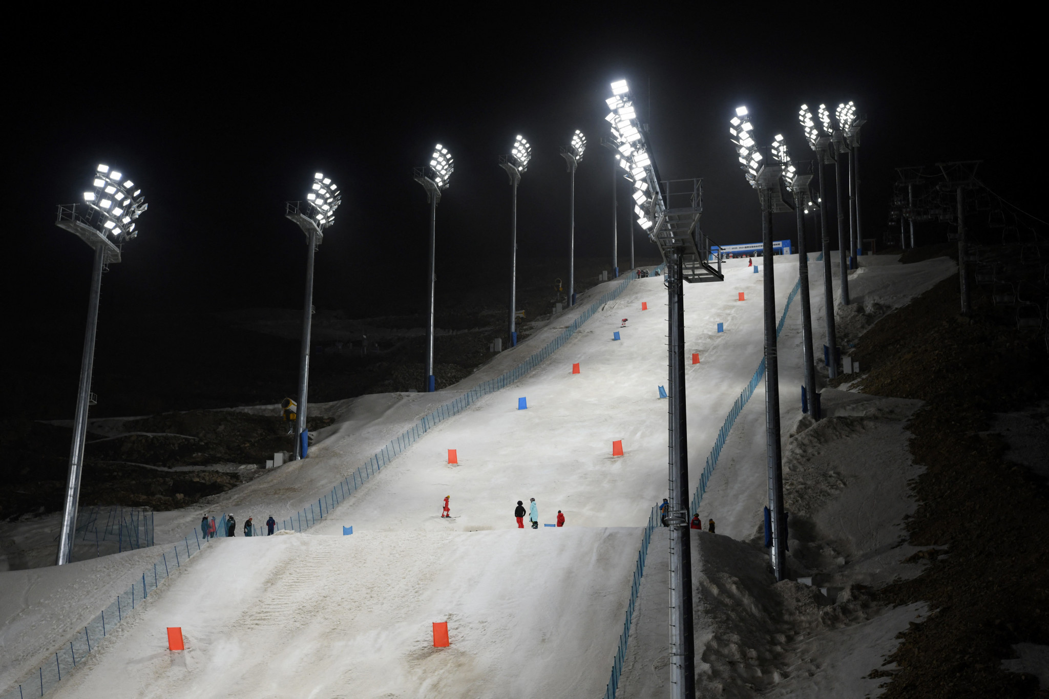 Genting Snow Park is set to host the snowboard cross events at Beijing 2022 ©Getty Images