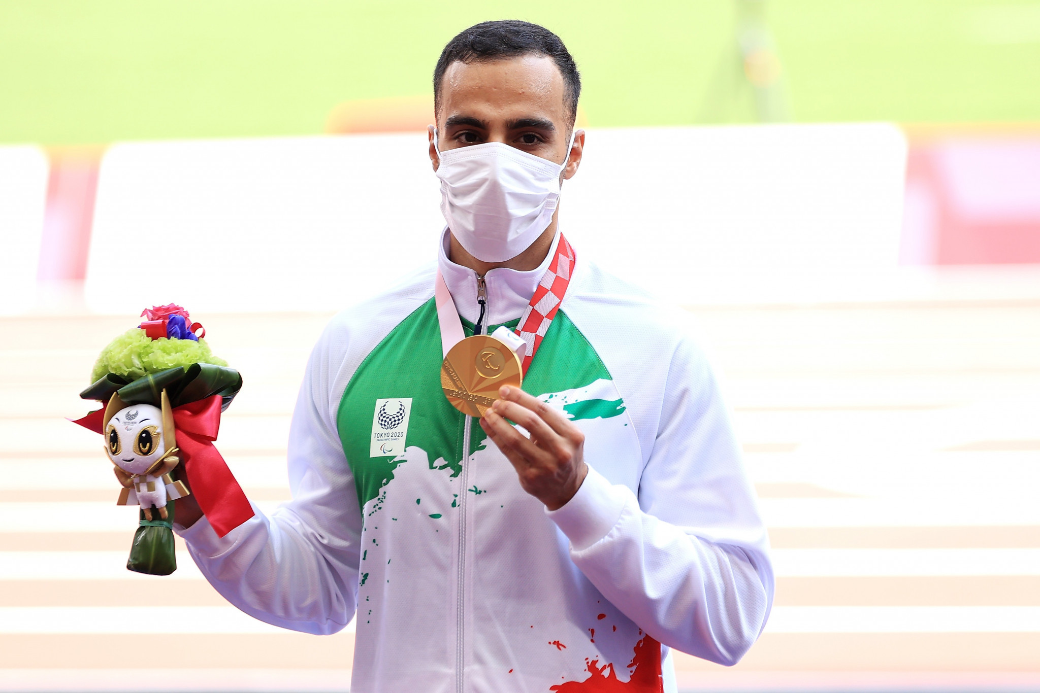 Long jumper Amir Khosravani was among Iranian 12 gold medallists at the Tokyo 2020 Paralympics ©Getty Images