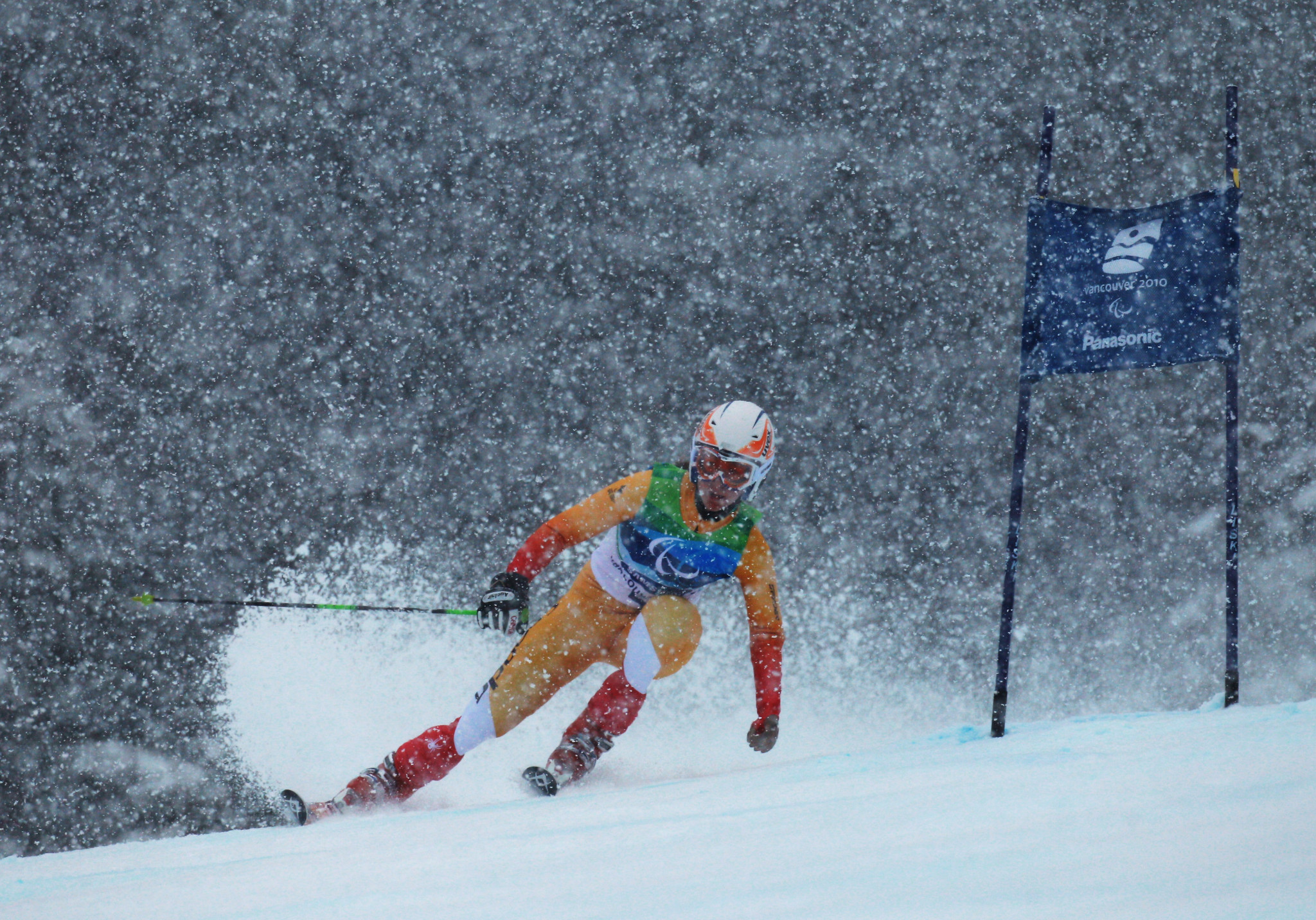Canada's best Winter Paralympic performance came at Vancouver 2010 as the host nation won 10 gold medals ©Getty Images