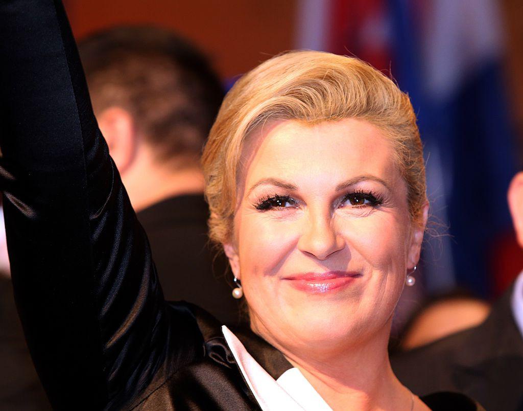 Kolinda Grabar-Kitarović was handed a key IOC role by President Thomas Bach this week ©Getty Images