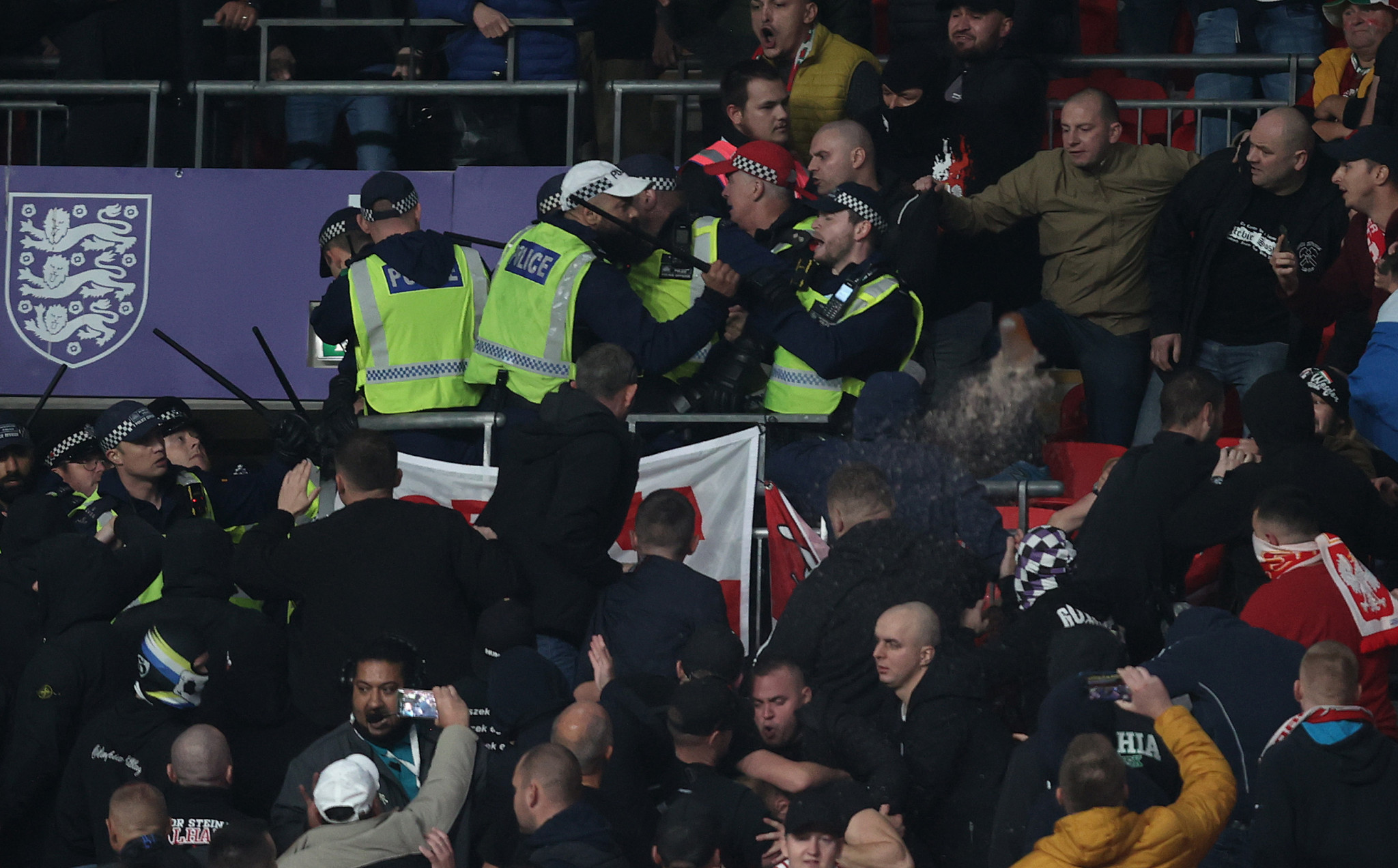 FIFA opens disciplinary proceedings following crowd trouble at Hungary and Albania World Cup qualifiers